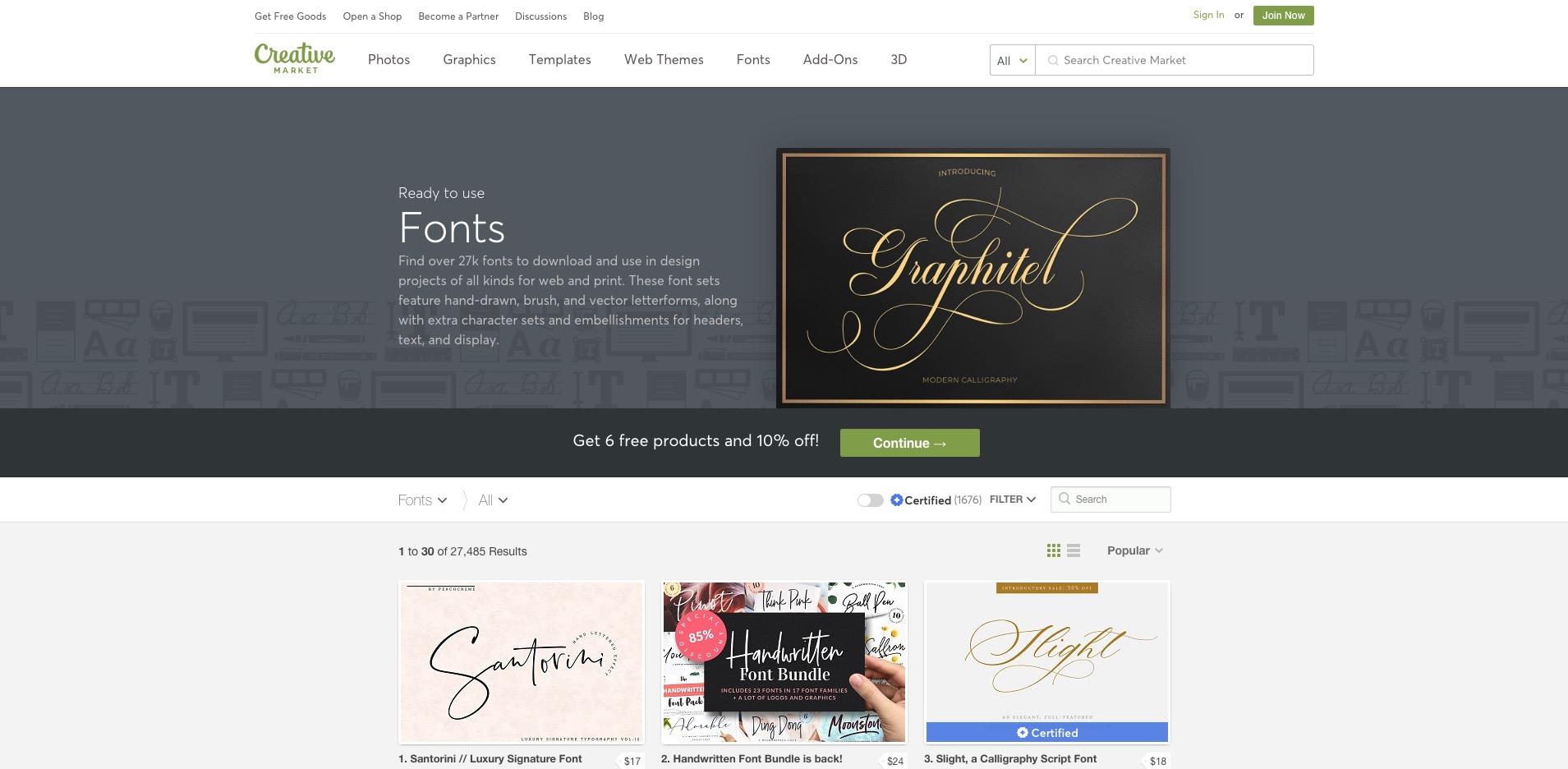CreativeMarket für Hochzeitsdienstleister